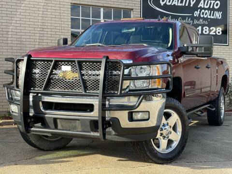 2013 Chevrolet Silverado 2500HD for sale at Quality Auto of Collins in Collins MS