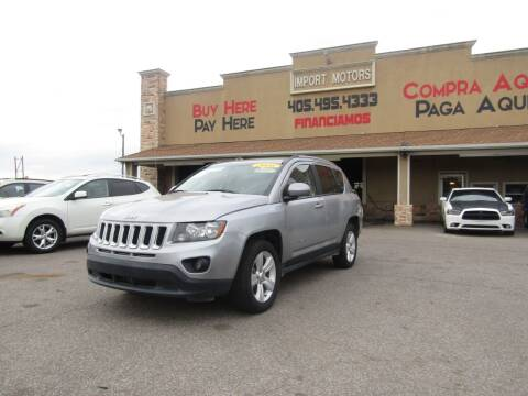 2016 Jeep Compass for sale at Import Motors in Bethany OK