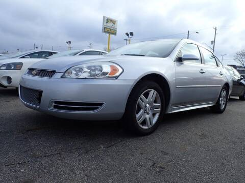 2012 Chevrolet Impala for sale at RPM AUTO SALES in Lansing MI