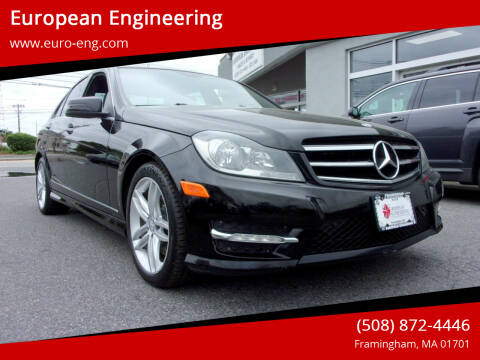 2014 Mercedes-Benz C-Class for sale at European Engineering in Framingham MA
