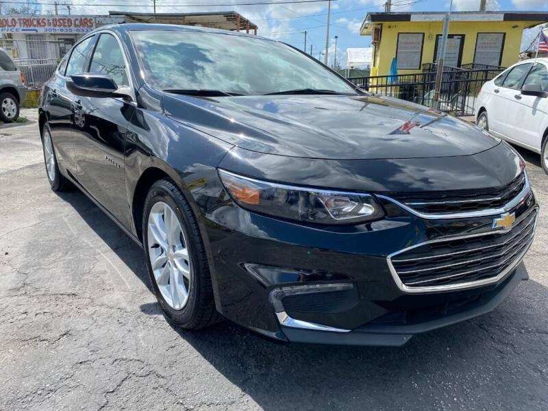 2018 Chevrolet Malibu for sale at MIAMI AUTO LIQUIDATORS in Miami FL