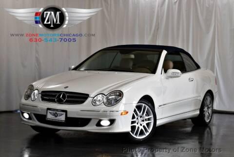 2009 Mercedes-Benz CLK for sale at ZONE MOTORS in Addison IL