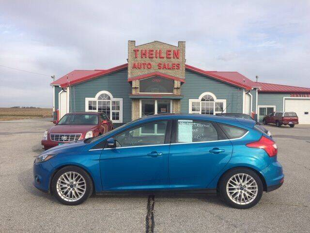 2014 Ford Focus for sale at THEILEN AUTO SALES in Clear Lake IA