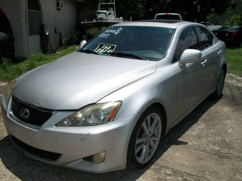 2007 Lexus IS 250 for sale at THOM'S MOTORS in Houston TX