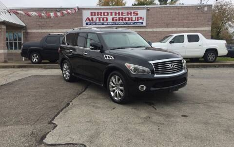 2011 Infiniti QX56 for sale at Brothers Auto Group in Youngstown OH