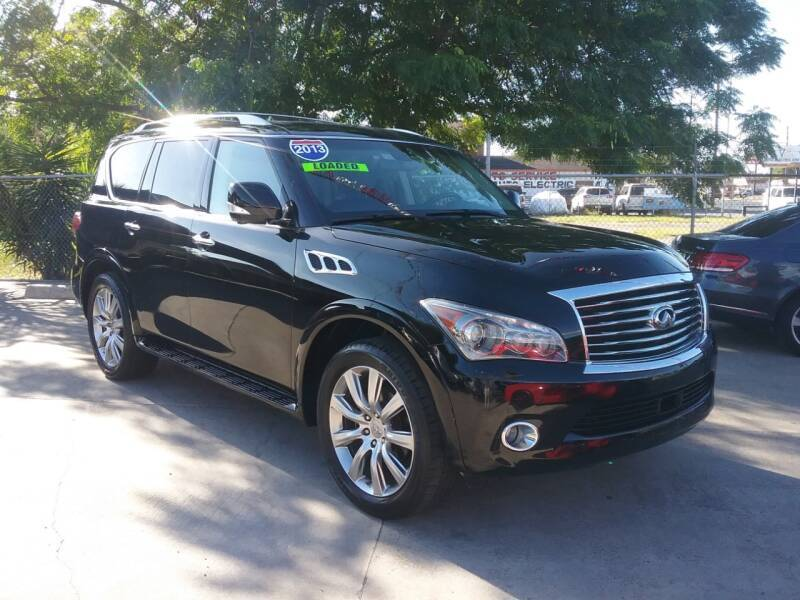2013 Infiniti QX56 for sale at Express AutoPlex in Brownsville TX
