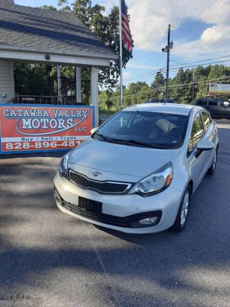2013 Kia Rio for sale at Catawba Valley Motors in Hickory NC