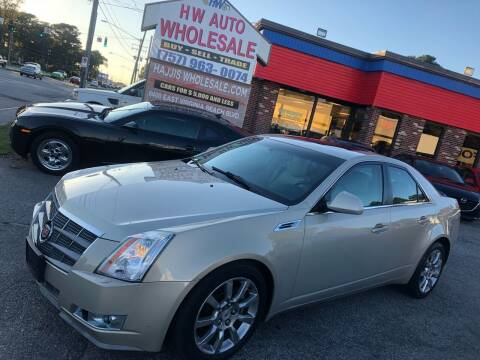 2008 Cadillac CTS for sale at HW Auto Wholesale in Norfolk VA