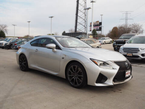 2015 Lexus RC F for sale at SIMOTES MOTORS in Minooka IL
