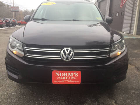 2016 Volkswagen Tiguan for sale at NORM'S USED CARS INC in Wiscasset ME