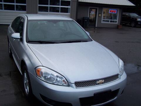 2012 Chevrolet Impala for sale at M & M Auto Sales LLc in Olympia WA