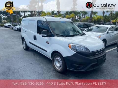 2019 RAM ProMaster City Cargo for sale at AUTOSHOW SALES & SERVICE in Plantation FL