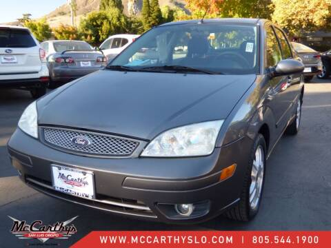 2006 Ford Focus for sale at McCarthy Wholesale in San Luis Obispo CA