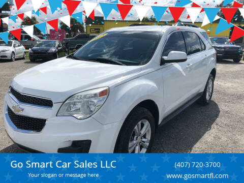 2013 Chevrolet Equinox for sale at Go Smart Car Sales LLC in Winter Garden FL