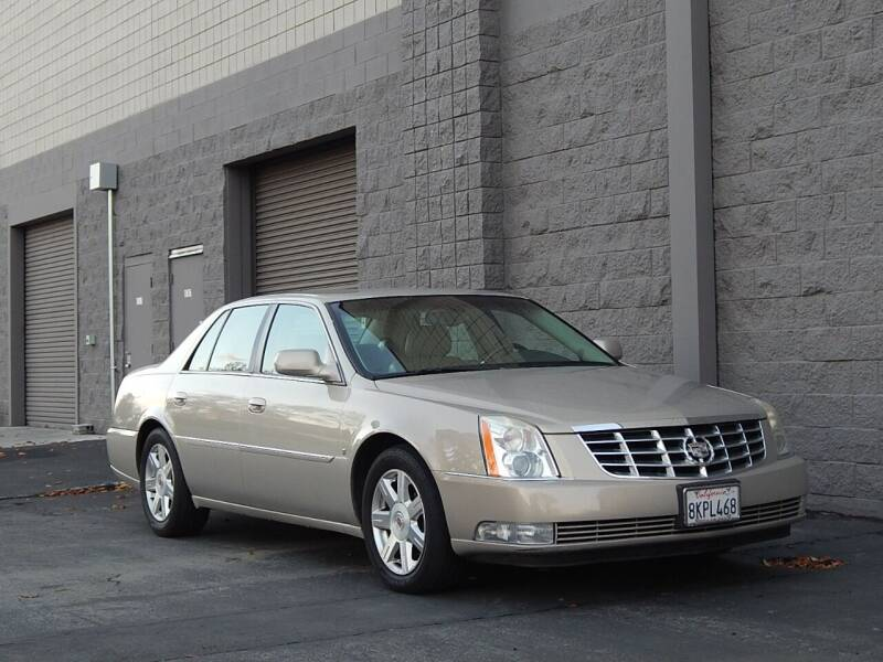 2007 Cadillac DTS for sale at Gilroy Motorsports in Gilroy CA