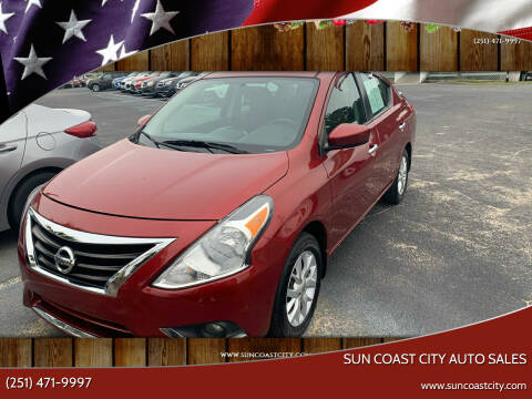 2017 Nissan Versa for sale at Sun Coast City Auto Sales in Mobile AL