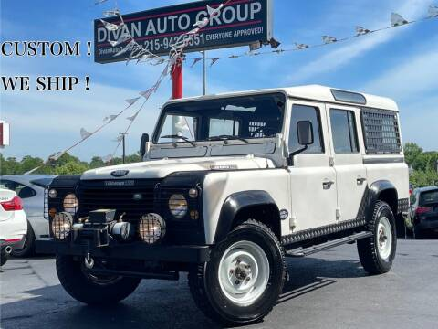 1990 Land Rover Defender for sale at Divan Auto Group in Feasterville Trevose PA