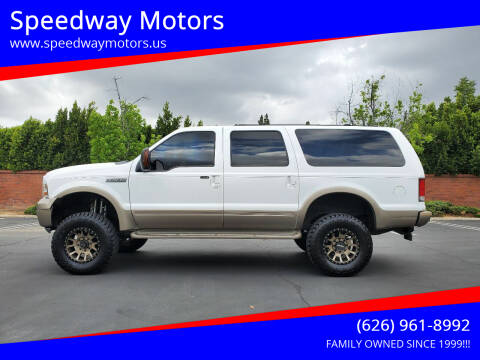 2005 Ford Excursion for sale at Speedway Motors in Glendora CA