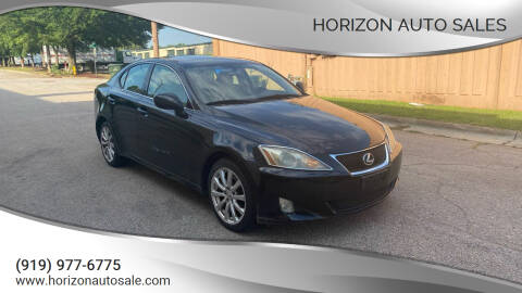 2008 Lexus IS 250 for sale at Horizon Auto Sales in Raleigh NC