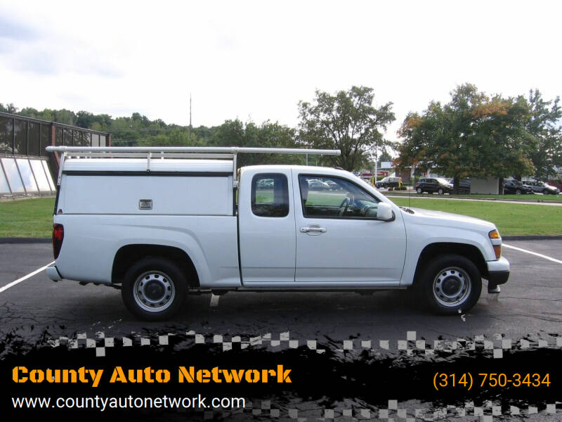2012 Chevrolet Colorado for sale at County Auto Network in Ballwin MO