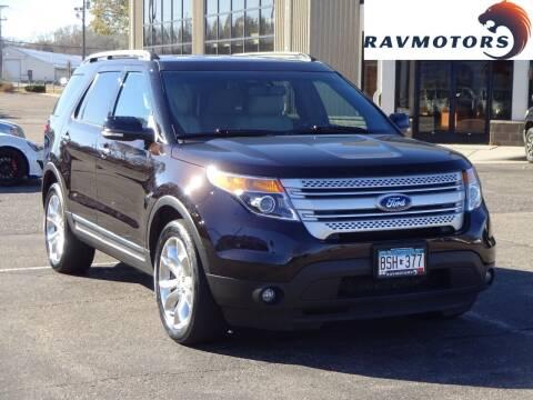 2014 Ford Explorer for sale at RAVMOTORS 2 in Crystal MN