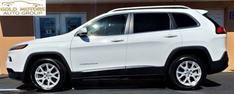 2016 Jeep Cherokee for sale at Gold Motors Auto Group Inc in Tampa FL