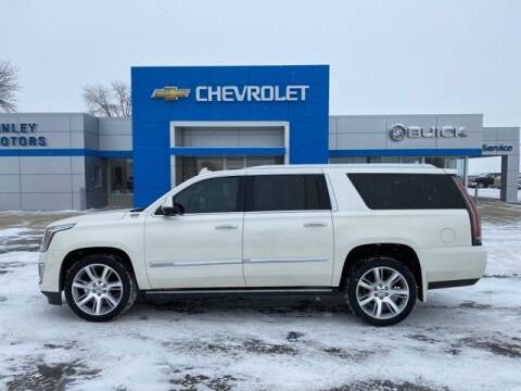 2015 Cadillac Escalade ESV for sale at Finley Motors in Finley ND
