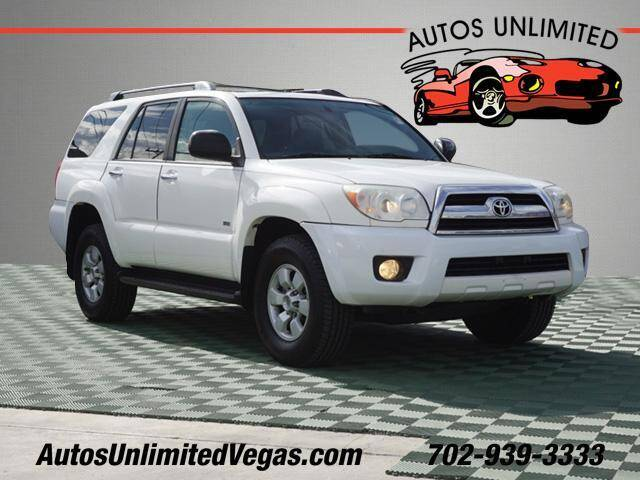 2006 Toyota 4Runner for sale at Autos Unlimited in Las Vegas NV