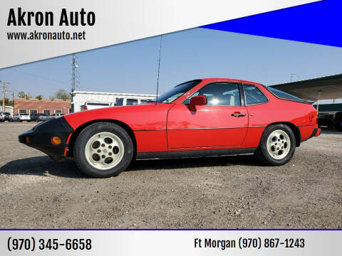 1988 Porsche 924 for sale at Akron Auto in Akron CO