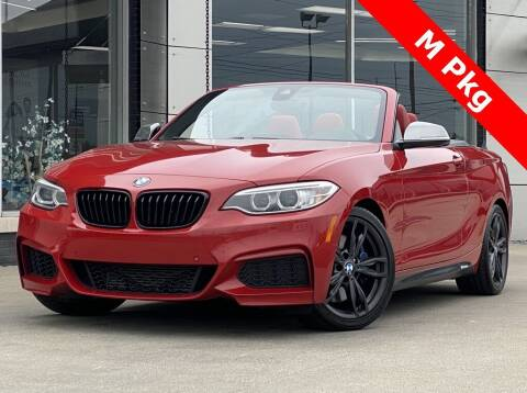 2016 BMW 2 Series for sale at Carmel Motors in Indianapolis IN