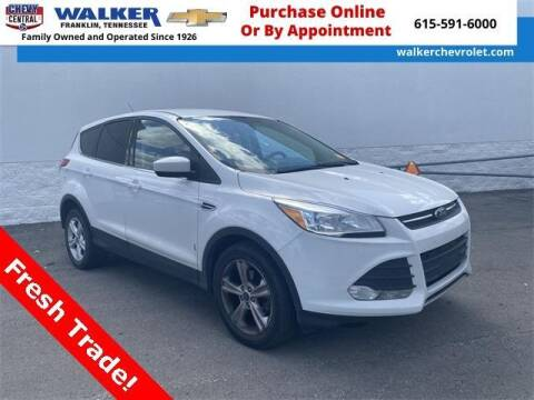 2015 Ford Escape for sale at WALKER CHEVROLET in Franklin TN