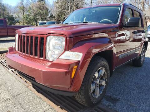 2008 Jeep Liberty for sale at AMA Auto Sales LLC in Ringwood NJ