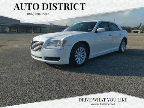 2013 Chrysler 300 for sale at Auto District in Baytown TX