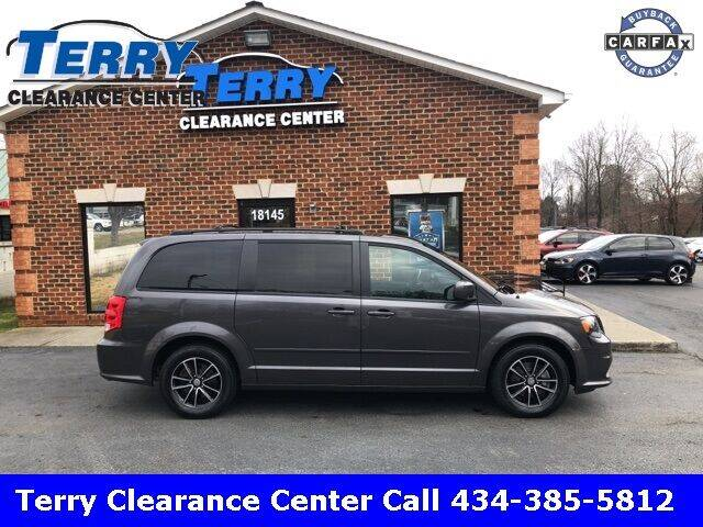 2015 Dodge Grand Caravan for sale at Terry Clearance Center in Lynchburg VA