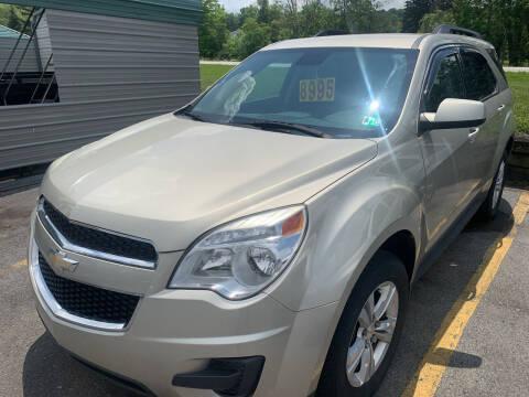 2013 Chevrolet Equinox for sale at BURNWORTH AUTO INC in Windber PA