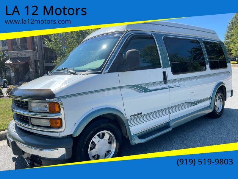 1999 Chevrolet Express Cargo for sale at LA 12 Motors in Durham NC