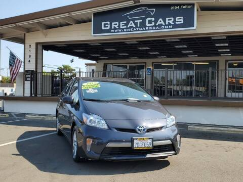 2014 Toyota Prius Plug-in Hybrid for sale at Great Cars in Sacramento CA