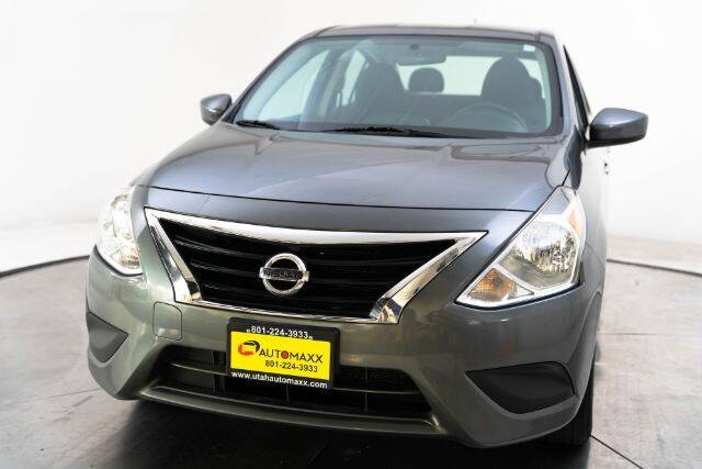 2019 Nissan Versa for sale at AUTOMAXX MAIN in Orem UT