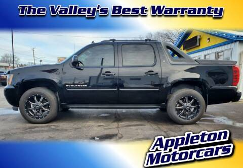 2011 Chevrolet Avalanche for sale at Appleton Motorcars Sales & Service in Appleton WI