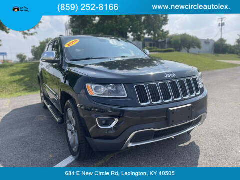 2014 Jeep Grand Cherokee for sale at New Circle Auto Sales LLC in Lexington KY