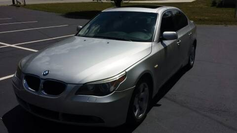 2006 BMW 5 Series for sale at Happy Days Auto Sales in Piedmont SC