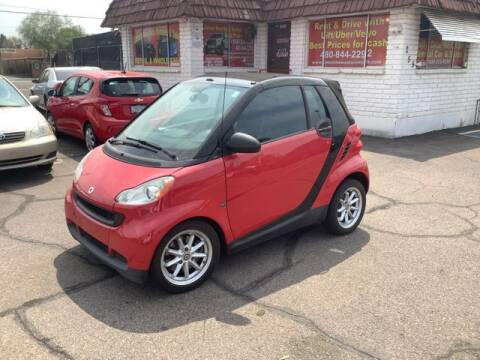 2009 Smart fortwo for sale at ALMOST NEW AUTO RENTALS & SALES in Mesa AZ
