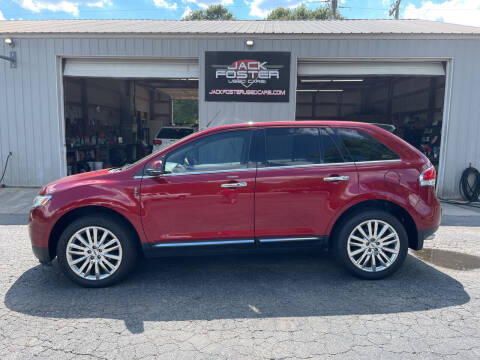 2013 Lincoln MKX for sale at Jack Foster Used Cars LLC in Honea Path SC