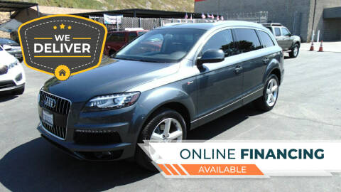 2013 Audi Q7 for sale at So Cal Performance in San Diego CA