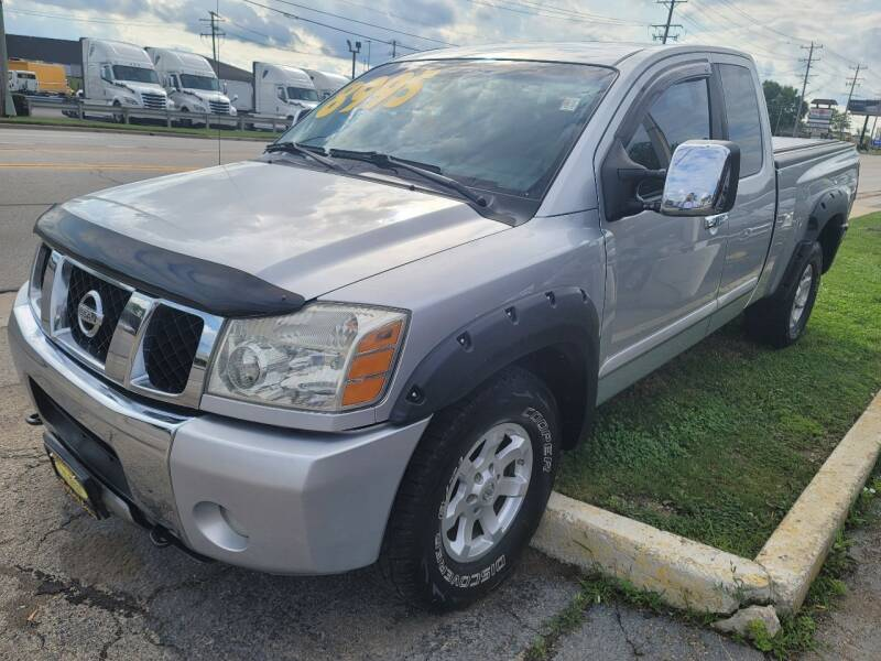 2004 Nissan Titan for sale at Top Notch Auto Brokers, Inc. in Palatine IL