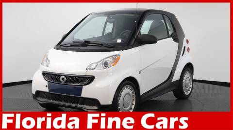 2015 Smart fortwo for sale at Florida Fine Cars - West Palm Beach in West Palm Beach FL