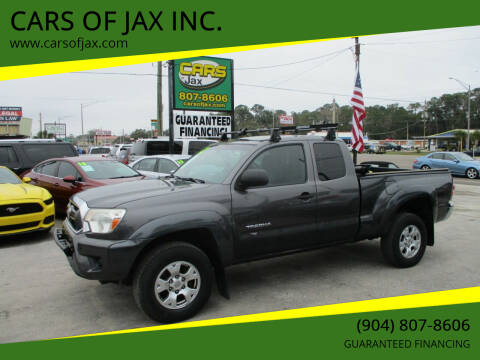2012 Toyota Tacoma for sale at CARS OF JAX INC. in Jacksonville FL
