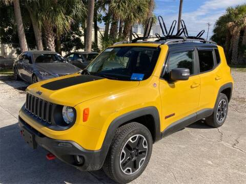 2015 Jeep Renegade for sale at Florida Fine Cars - West Palm Beach in West Palm Beach FL