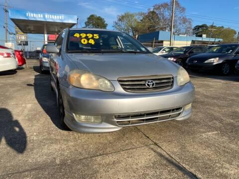 2004 Toyota Corolla for sale at Port City Auto Sales in Baton Rouge LA