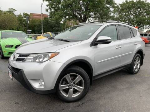 2015 Toyota RAV4 for sale at Sonias Auto Sales in Worcester MA